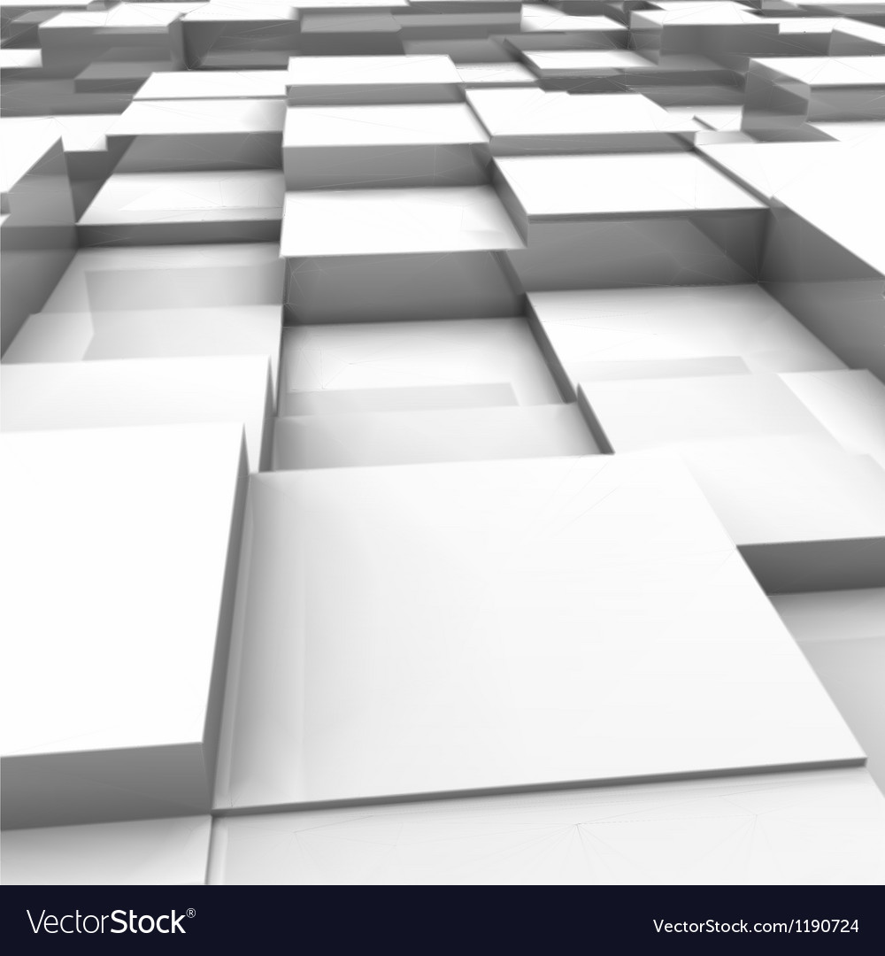White brick wall with random height bricks