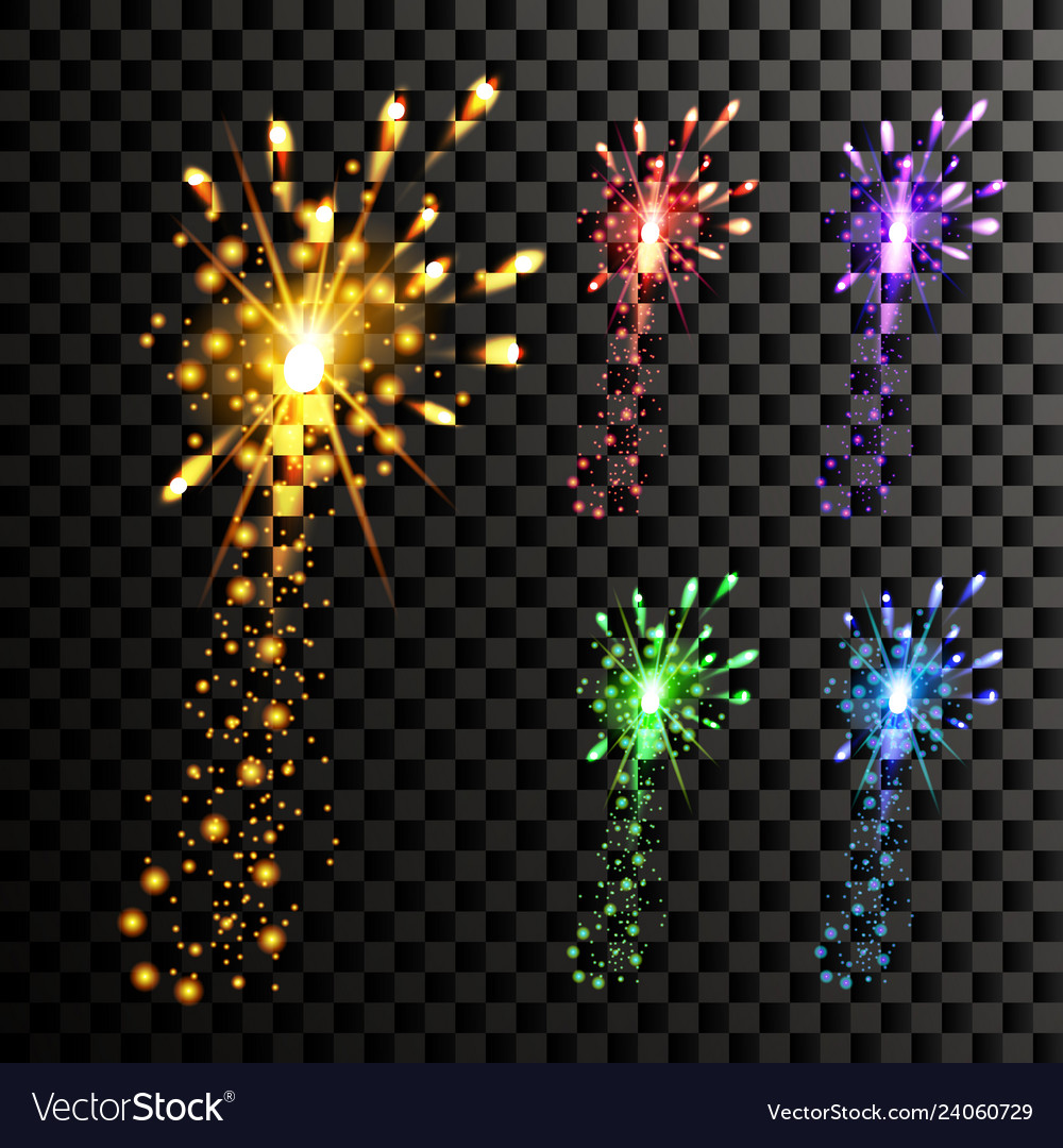 Firework night carnival light holiday