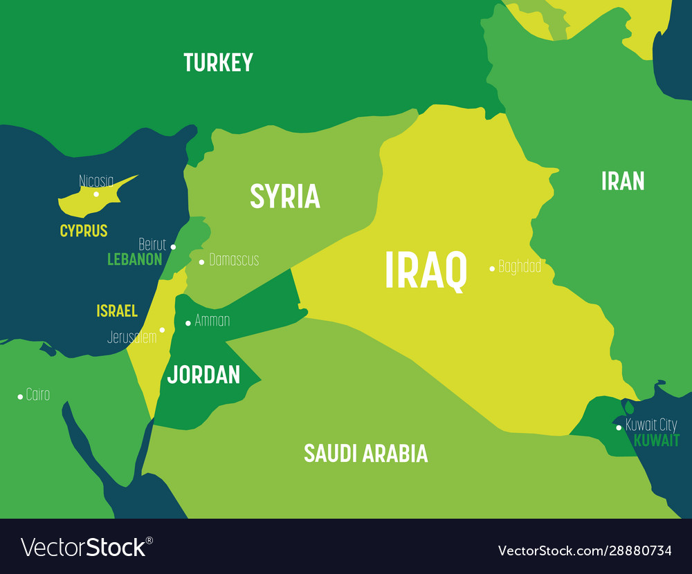 Image result for middle east map