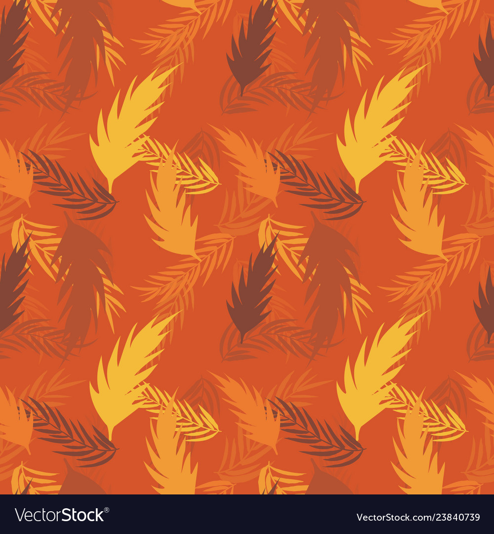 Abstract palm leaf background