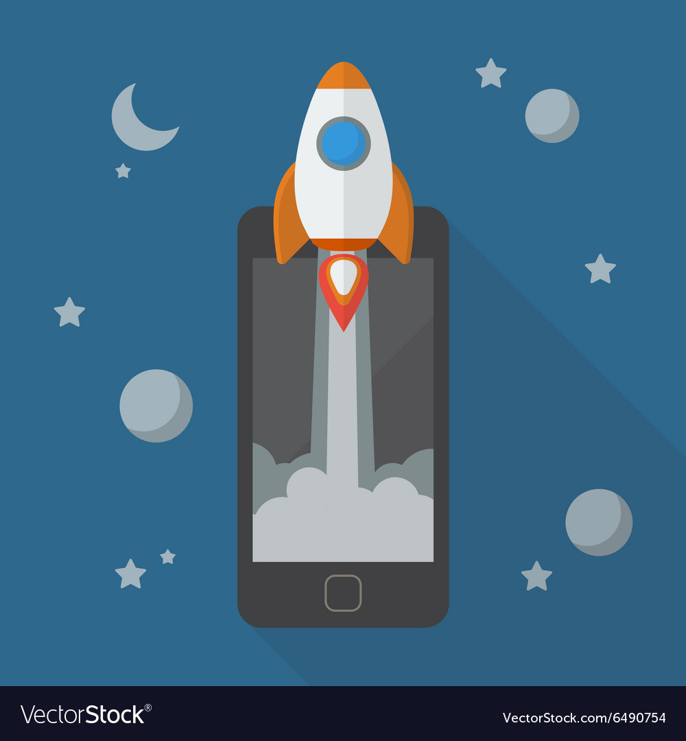 Rocket launching from smartphone
