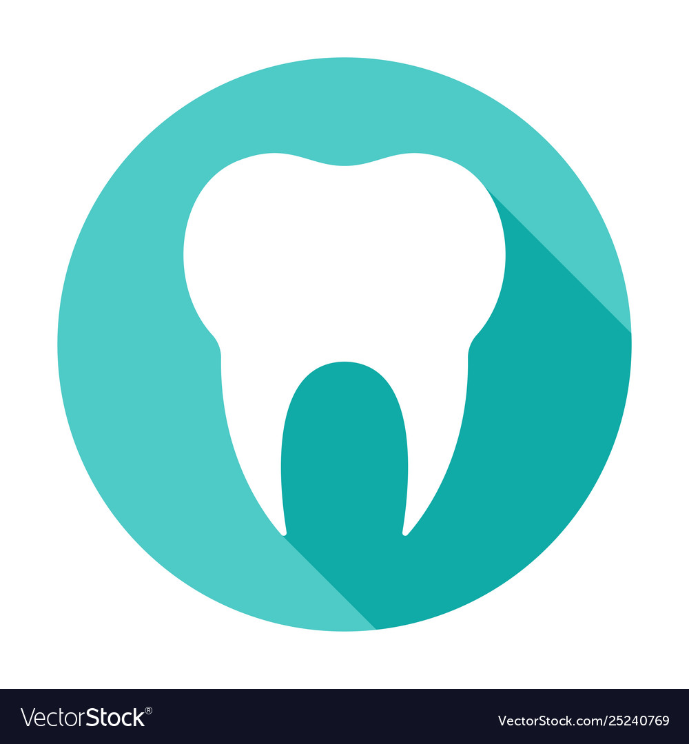 Tooth circle icon