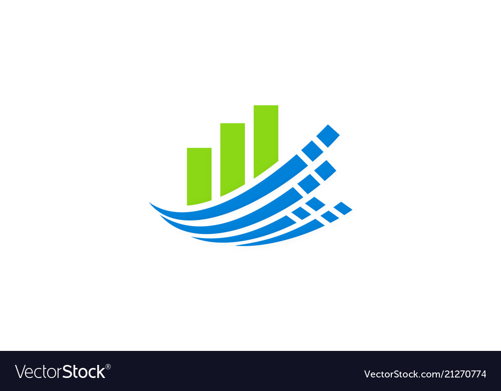Business finance technology logo