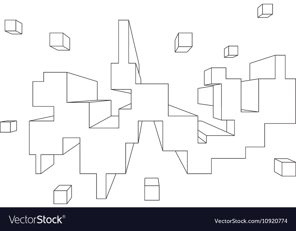 Rectangular Shape In One Point Perspective