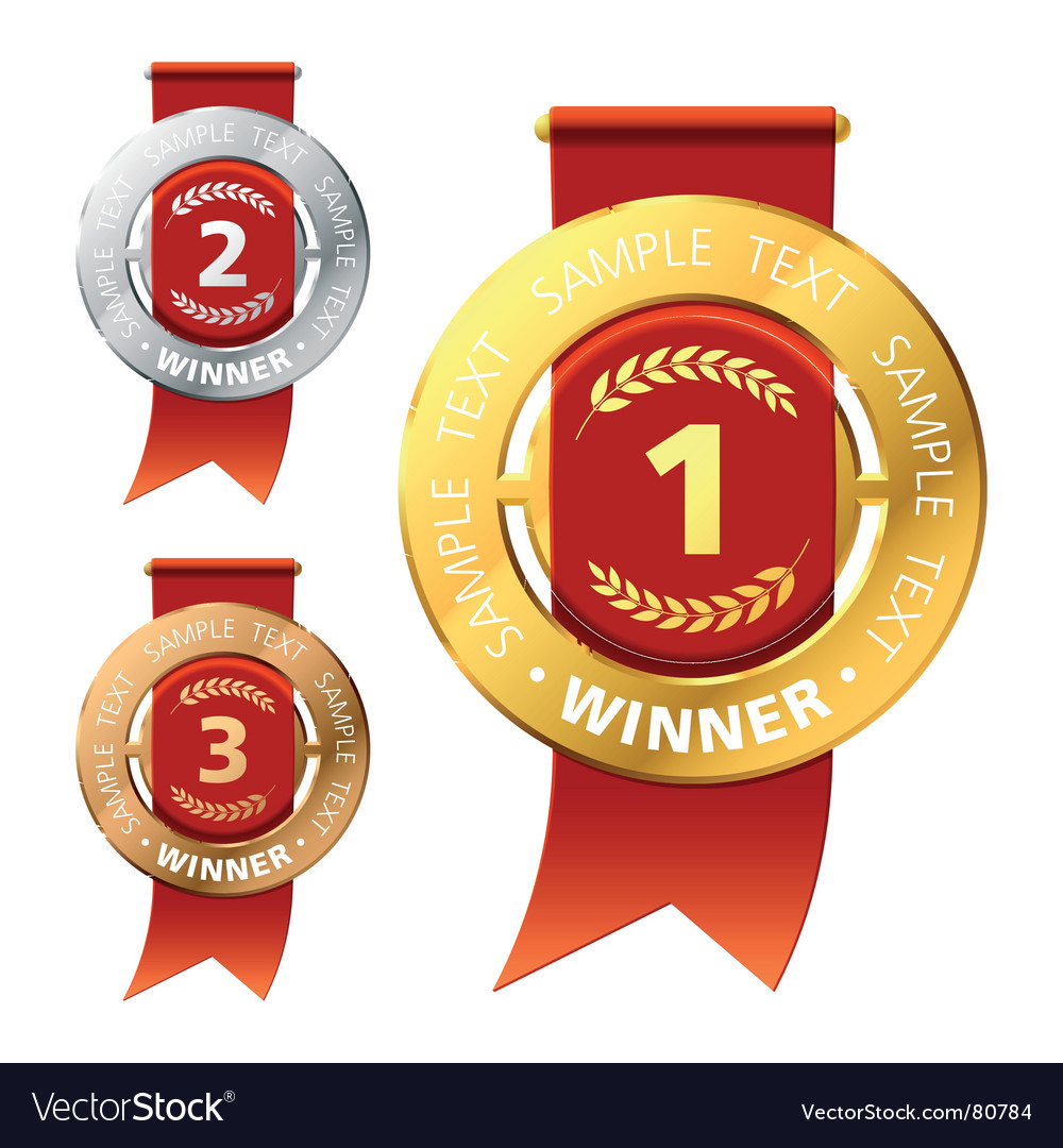 Awards vector image