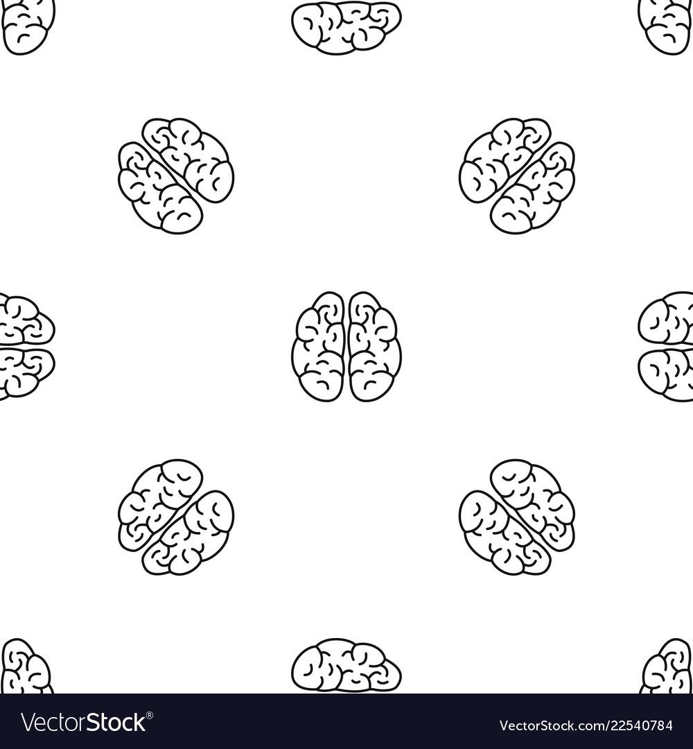 Brain pattern seamless