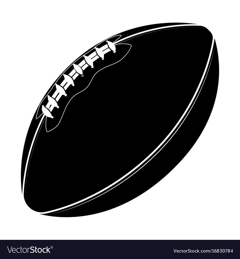 Sport equipment rugby ball american football