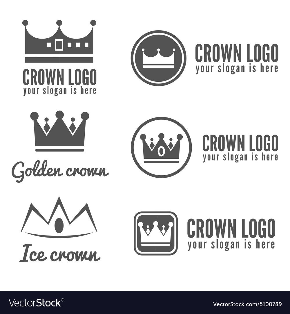 Set of logo labels badges emblems or logotype