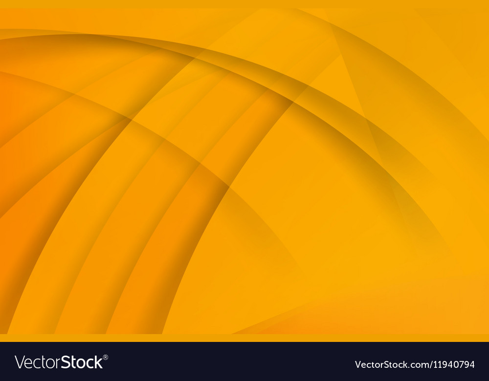 Abstract background yellow layered eps 10 006 vector image