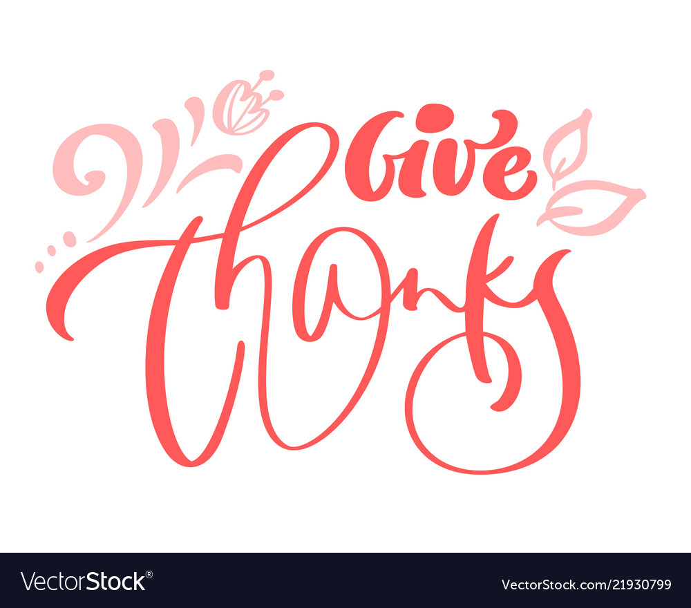 Give thanks friendship family positive quote