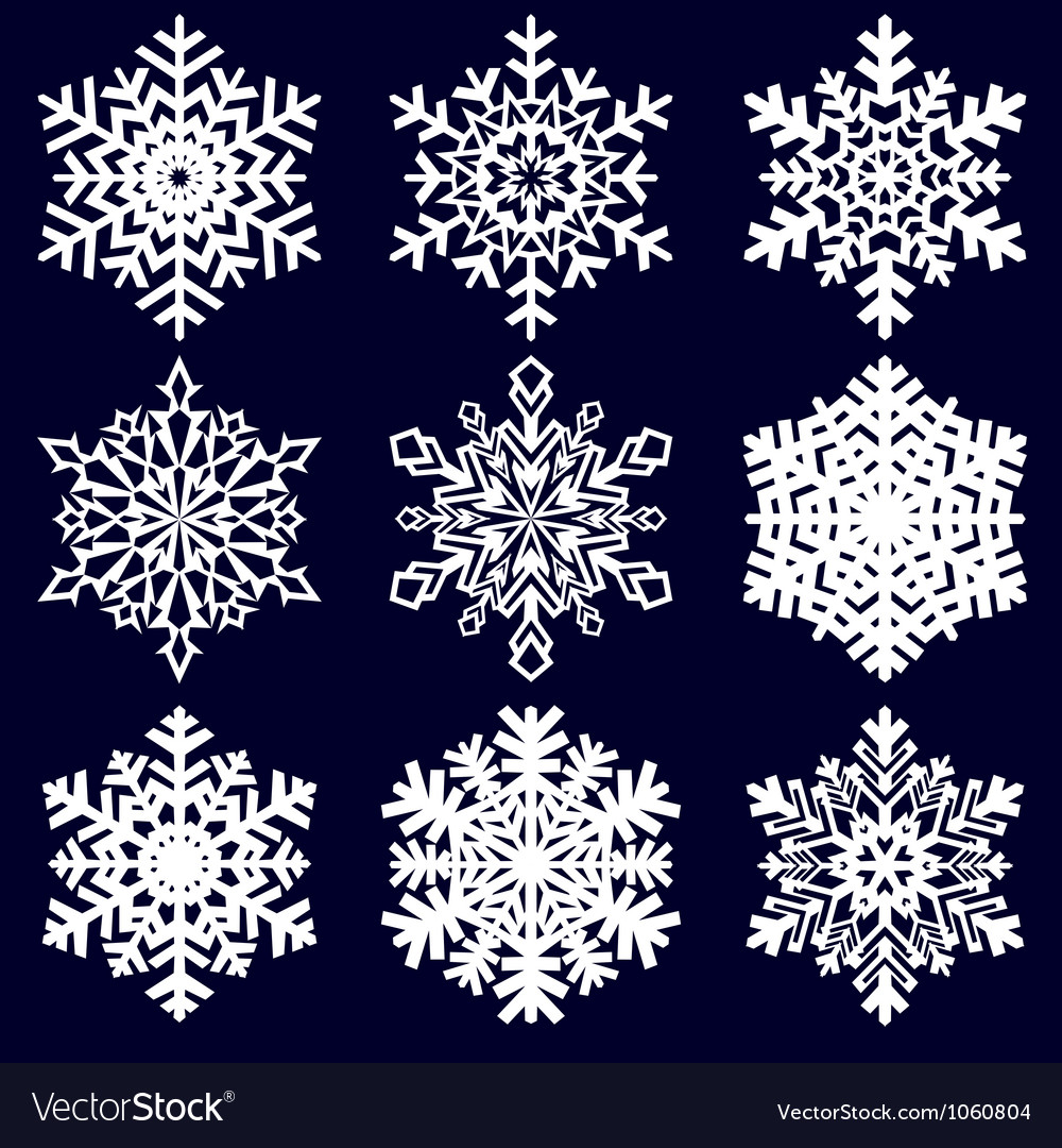 christmas background snowflakes royalty free vector image