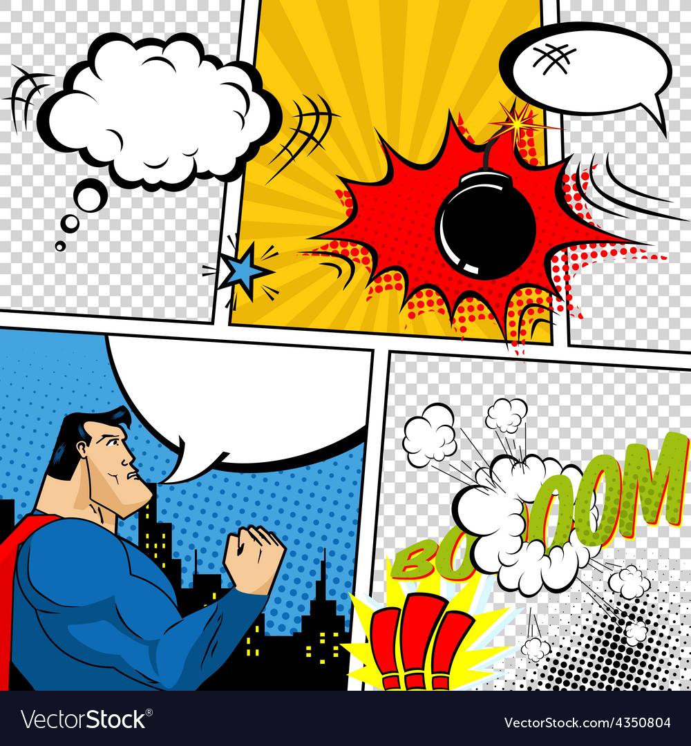 Comic Book Vector