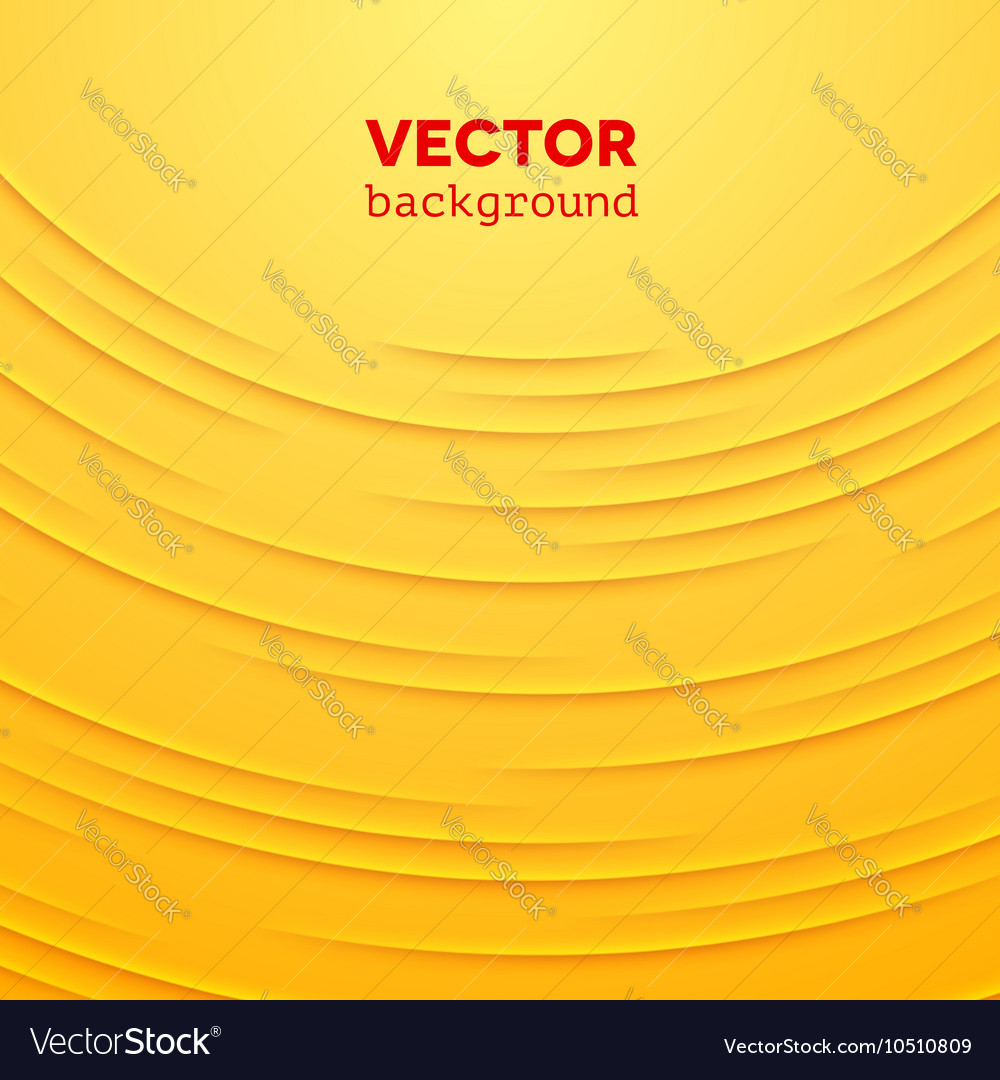 Abstract background with yellow layers