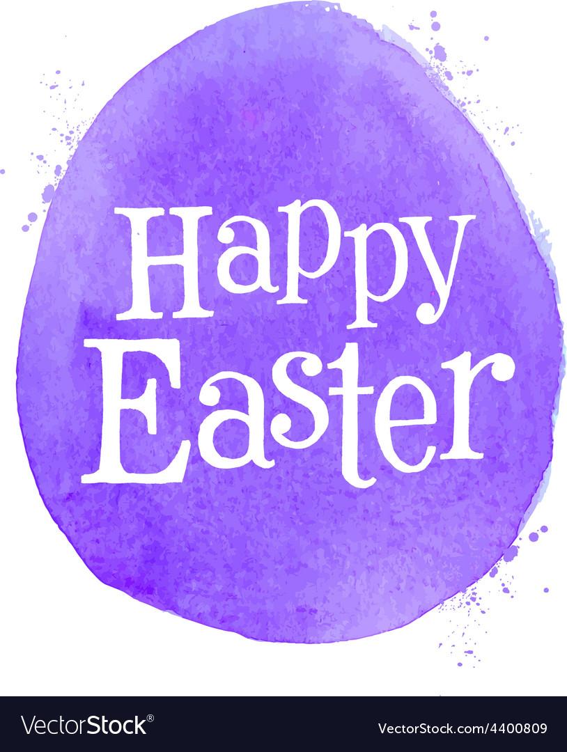 Happy easter logo design template egg or