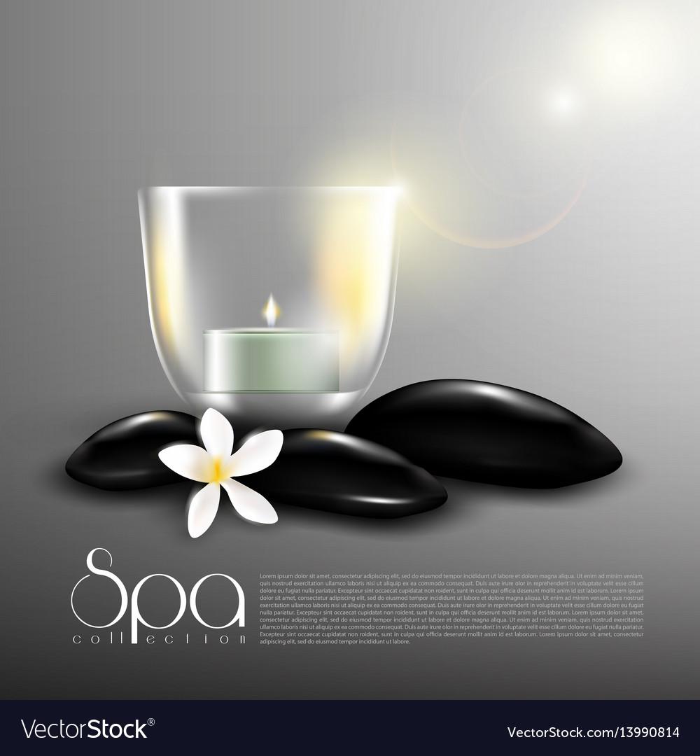 Beauty spa realistic template