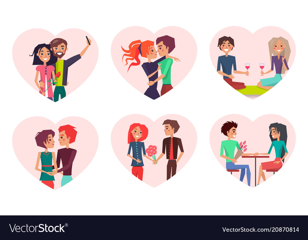 Couples in love and happiness