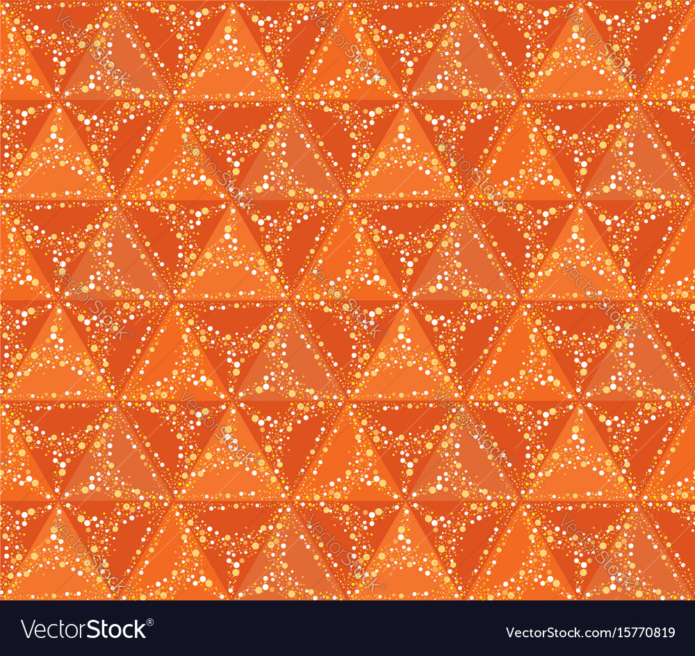 Abstract seamless pattern circular ornament swirl vector image