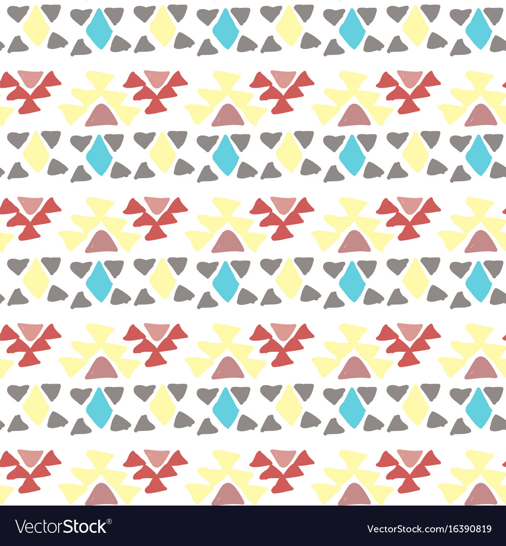 Ethnic pattern aztec geometric background