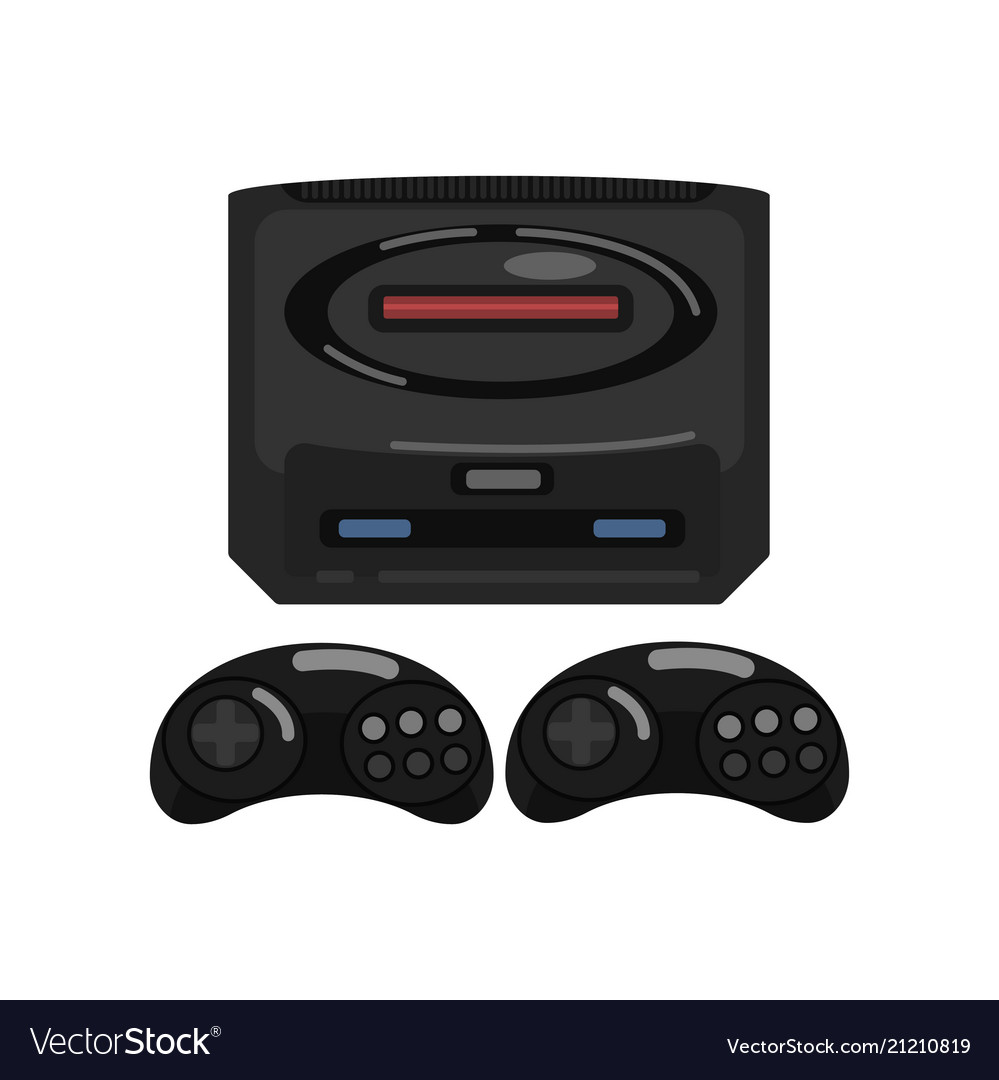 Retro video game controller on