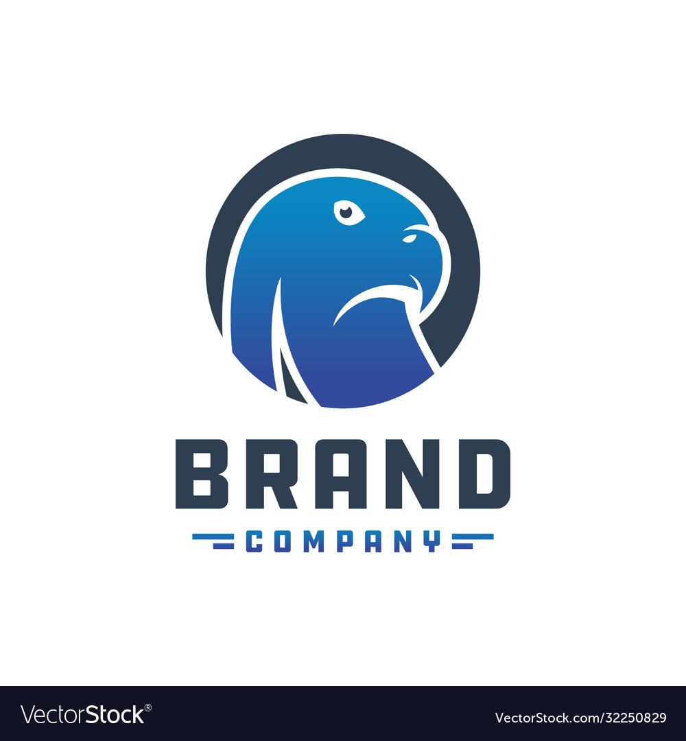 Eagle head logo design
