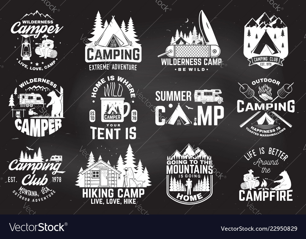 Summer camp concept for