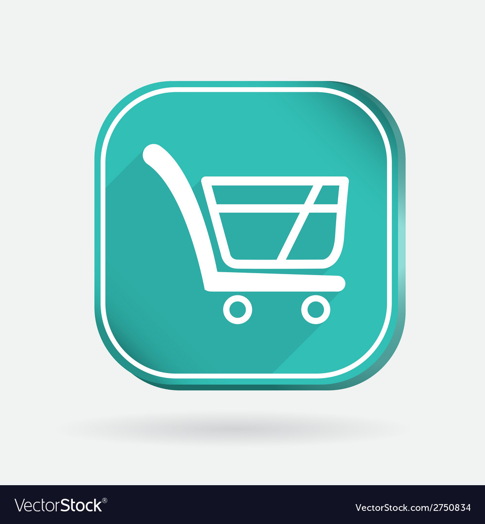 Square Online Store >> Cart Online Store Color Square Icon
