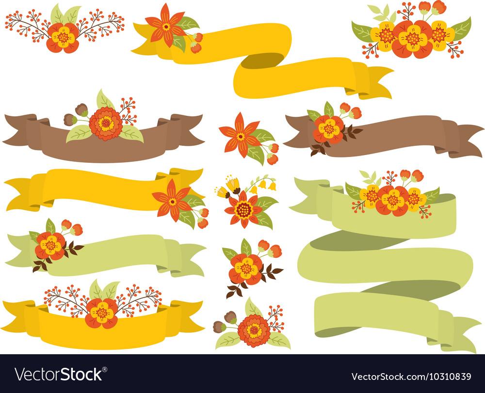 Autumn Ribbons Set