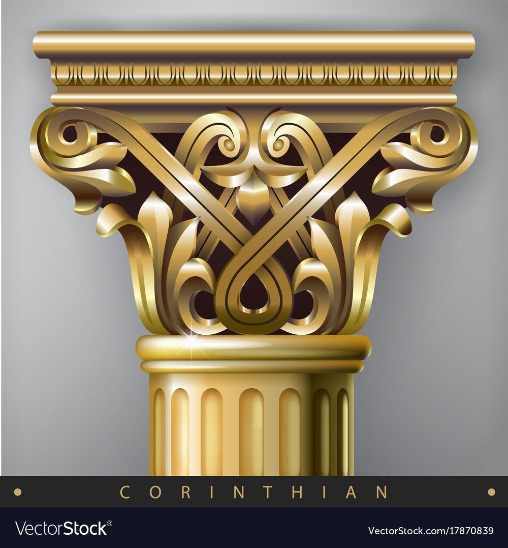 Golden eastern column