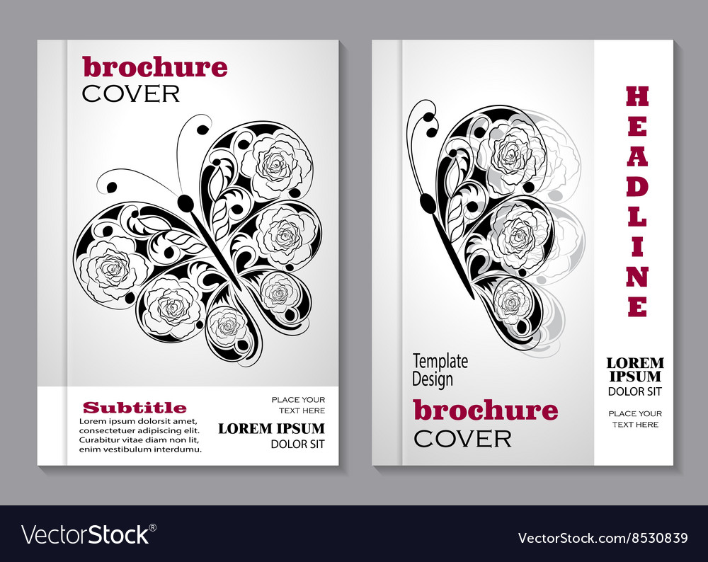 Modern templates for brochure
