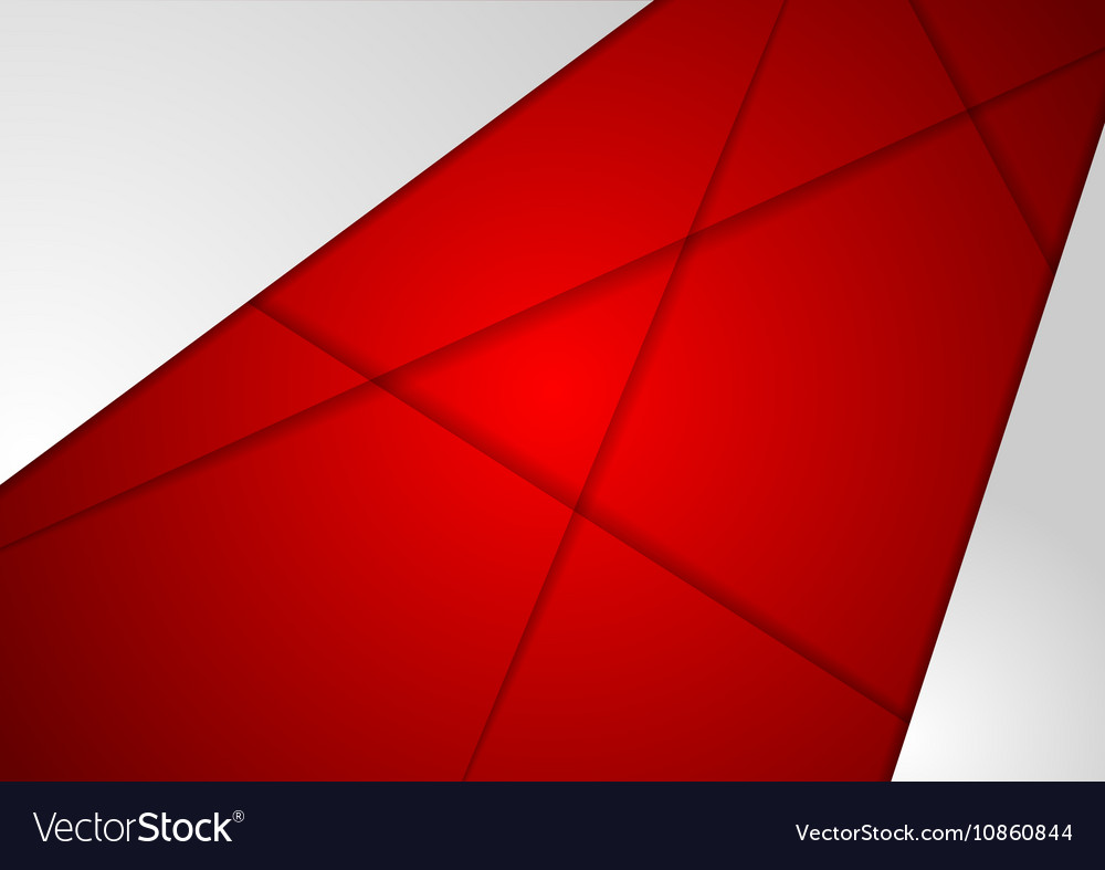 Corporate abstract red grey background