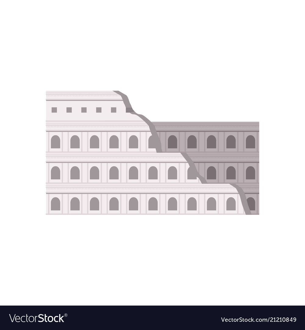 Roman colosseum rome italy building