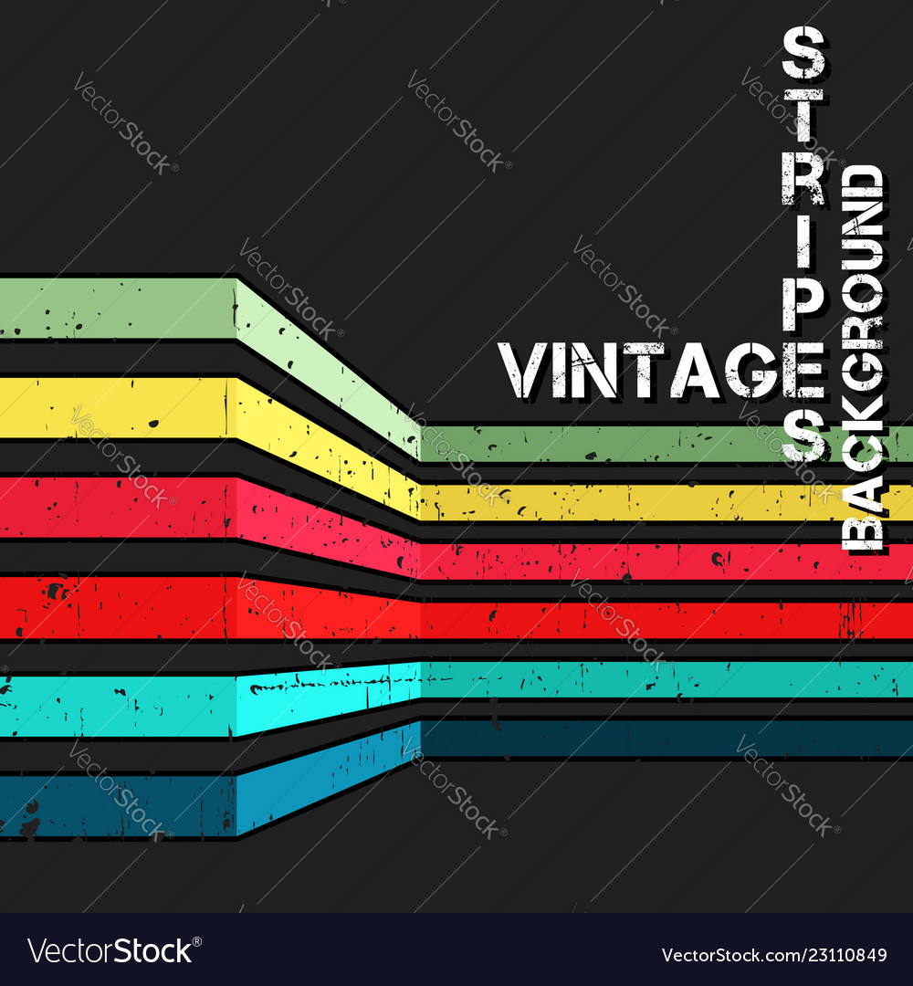 Vintage background with grunge colorful