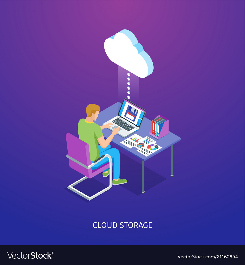 Cloud storage banner