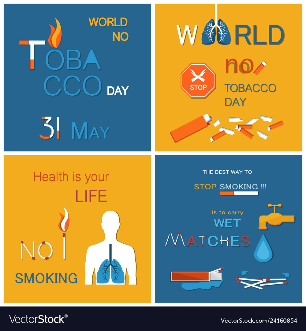 No tobacco day health is your life not smoking