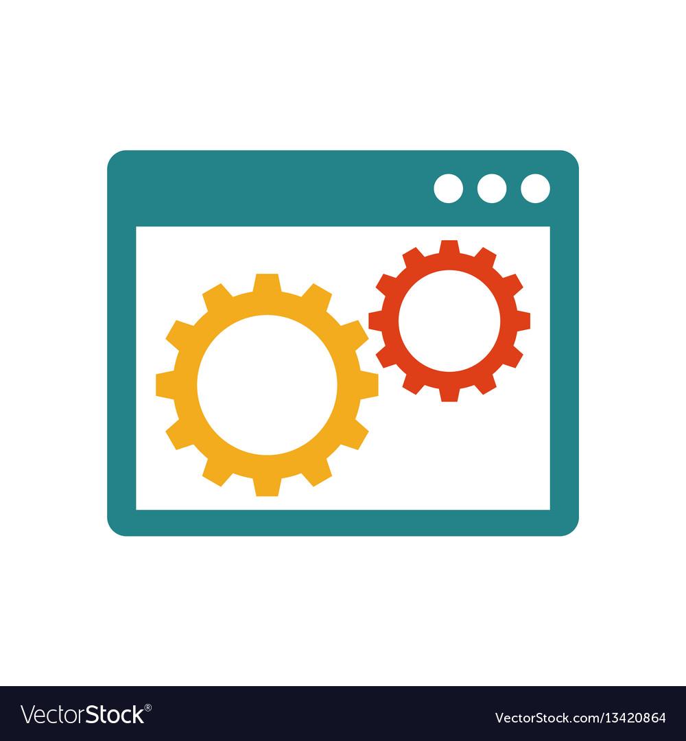 Gears inside the browser window