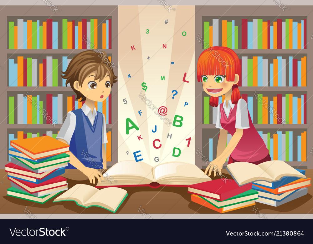 Kids education Royalty Free Vector Image - VectorStock