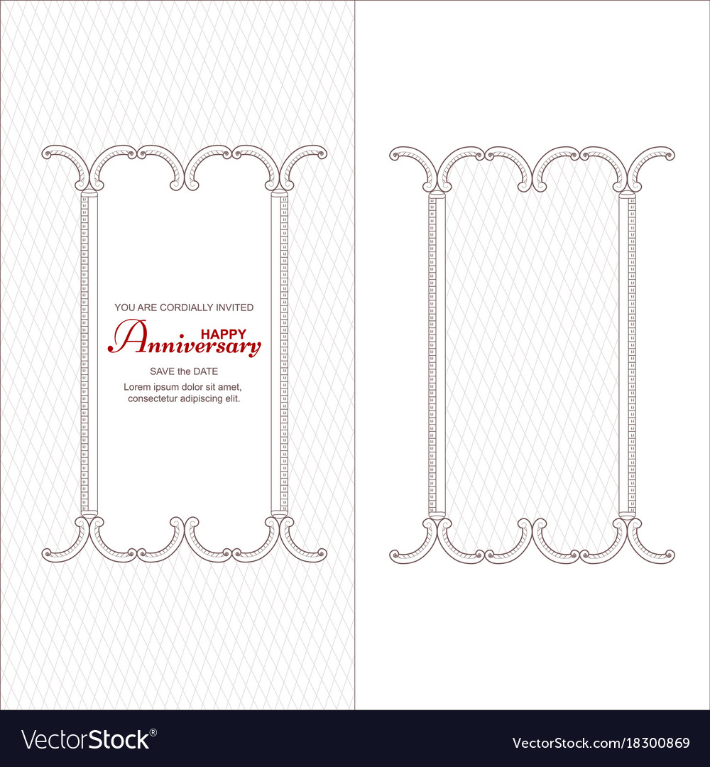 A set of two vintage vertical frames for an