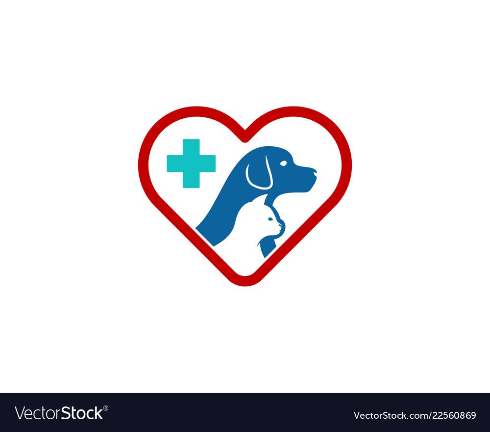 Animal care logo icon design