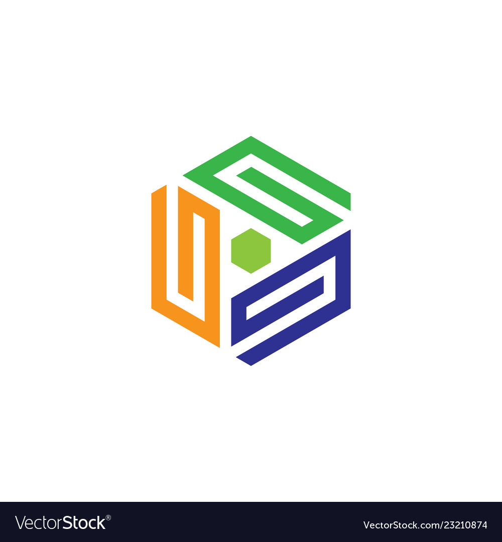 Hexagon business logo
