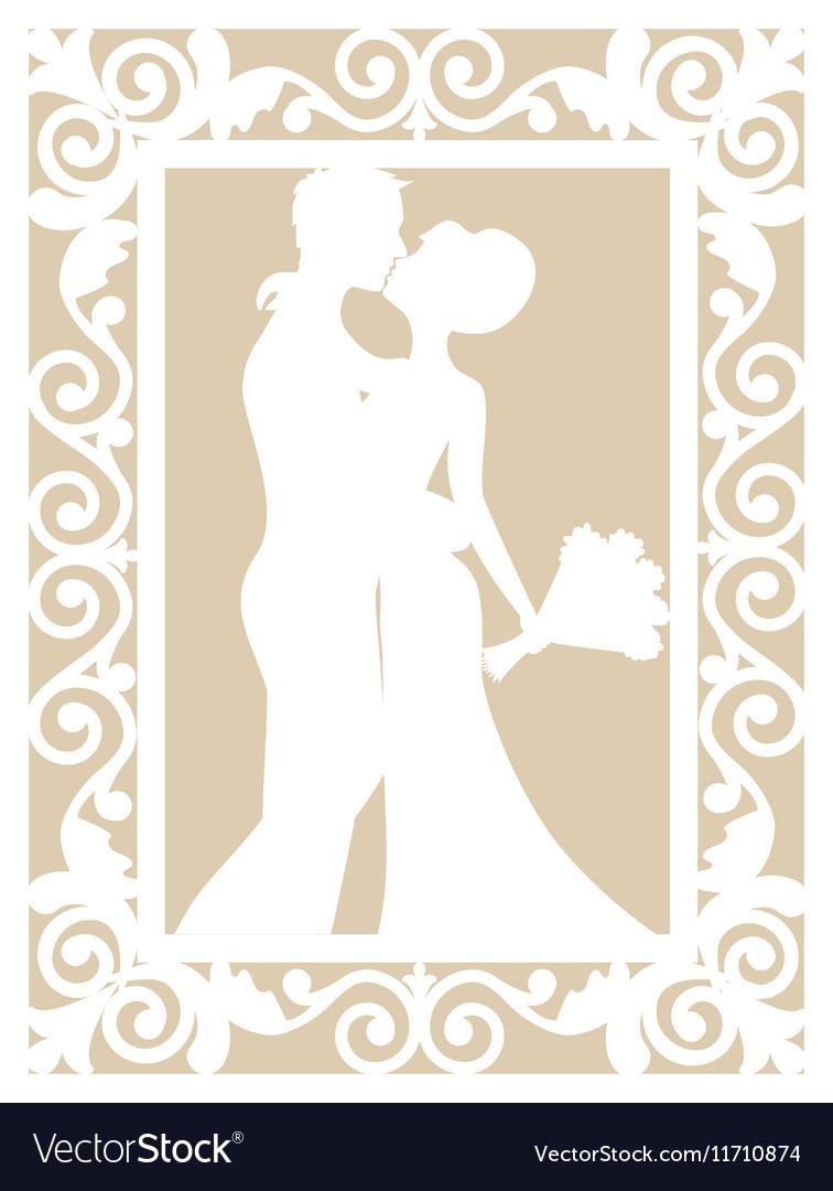 Wedding laser cut