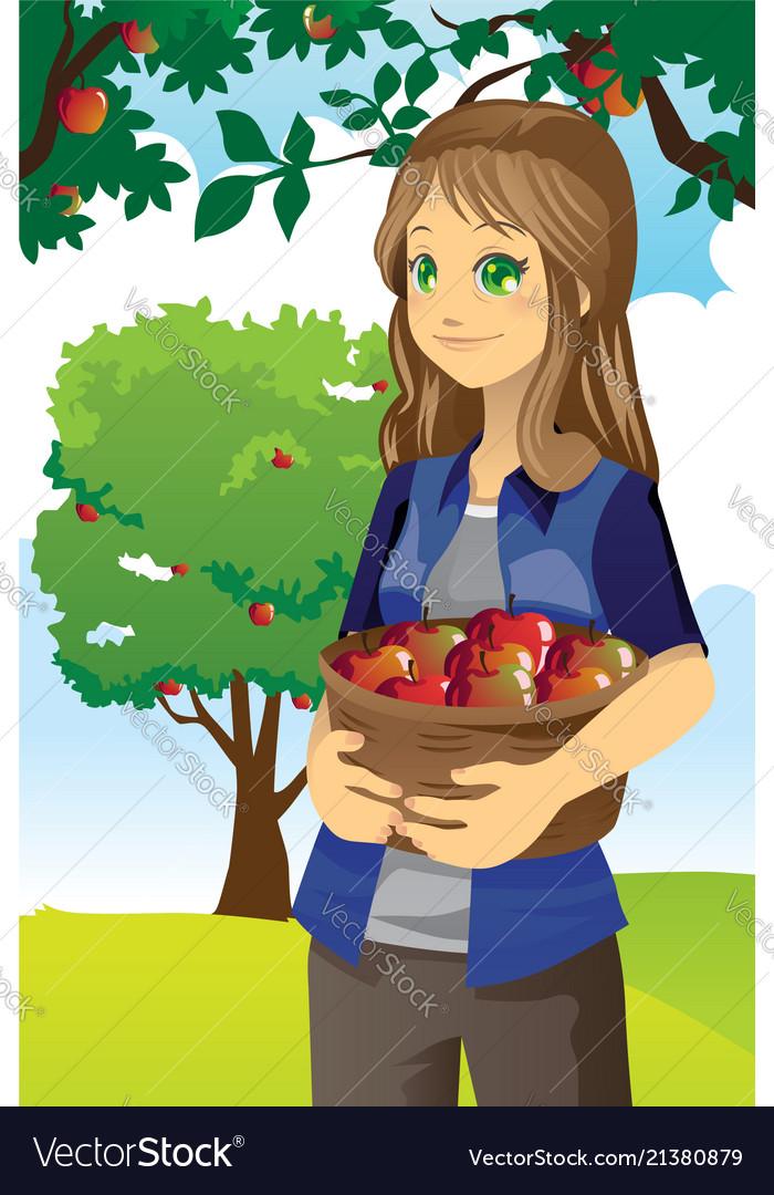Apple farmer
