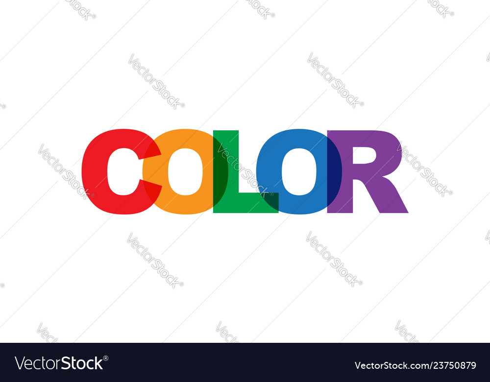 Color phrase overlap color no transparency