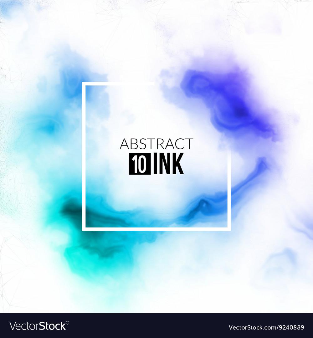 Abstract ink splash Liquid blurred smoke