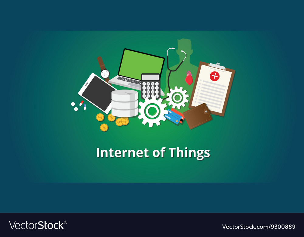 Iot internet of things concept