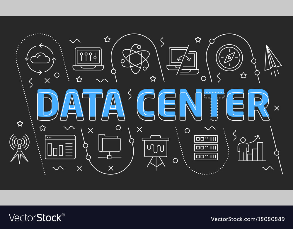 Linear data center