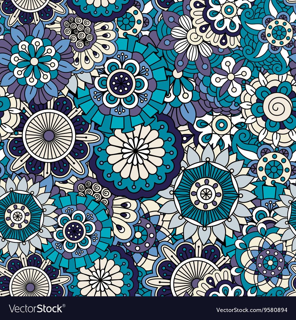 Full framed background in various blue tones