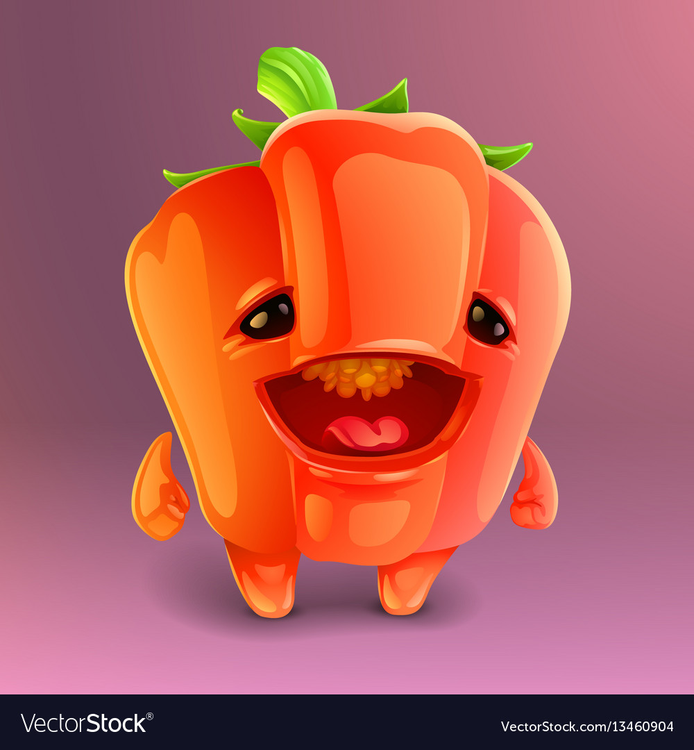 Happy pepper icon
