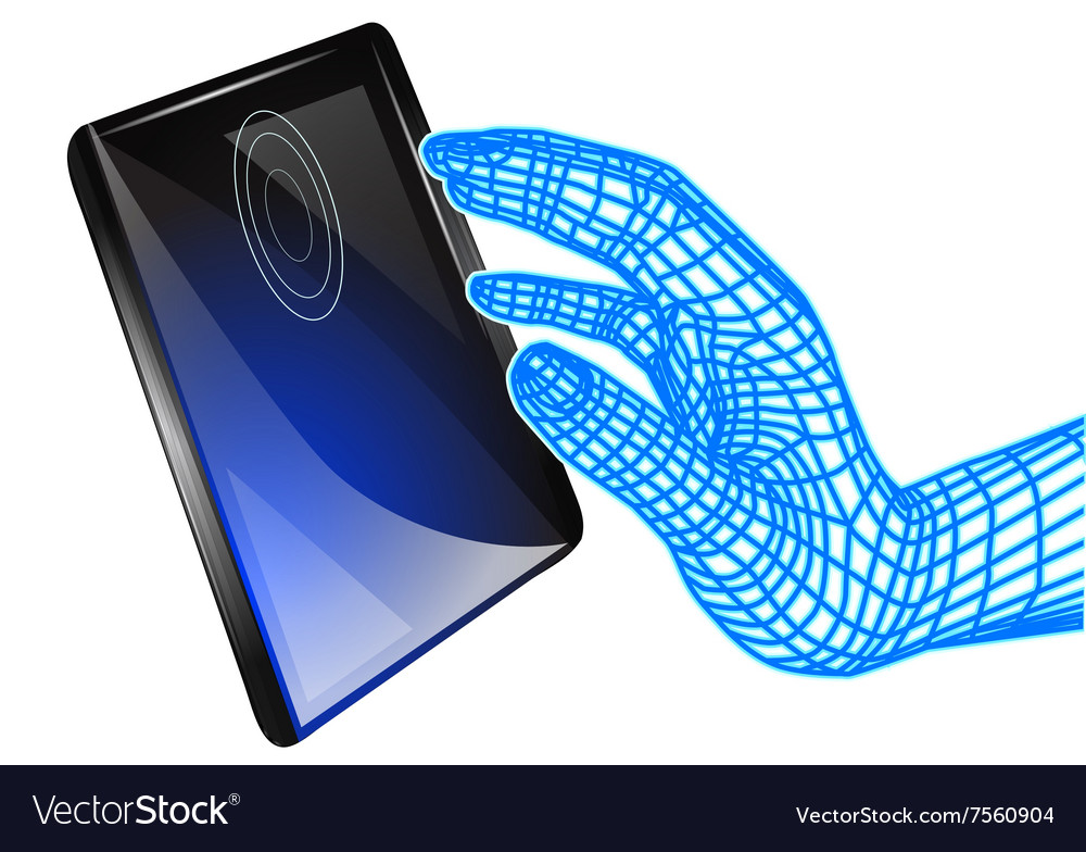 Tablet and computer hand