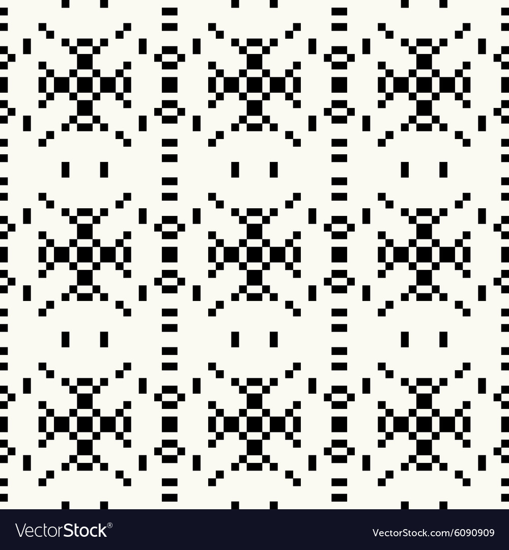 Hipster pixel seamless