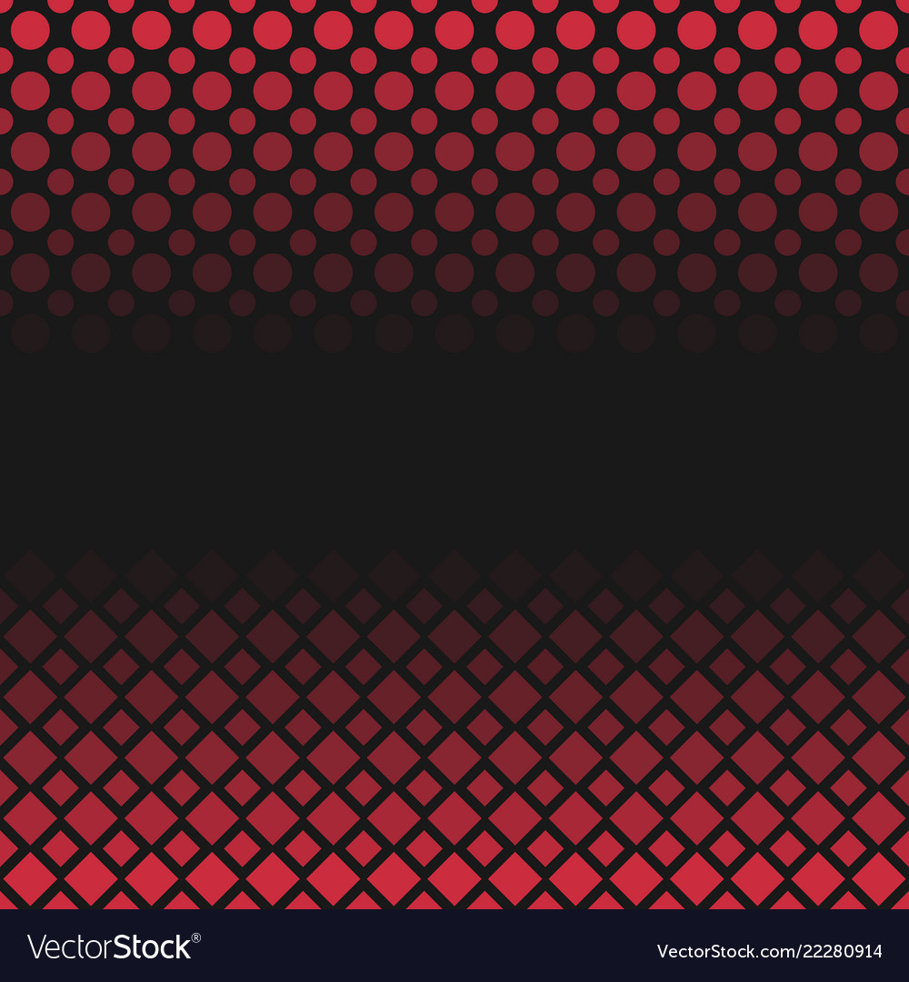 Halftone Geometric Dot And Square Pattern Vector Image